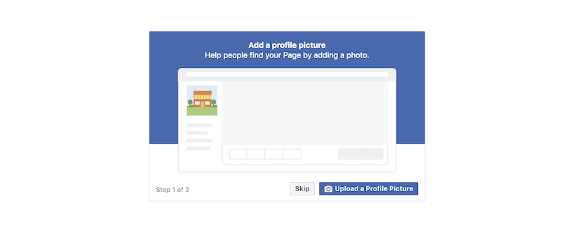 facebook business page adx add photo
